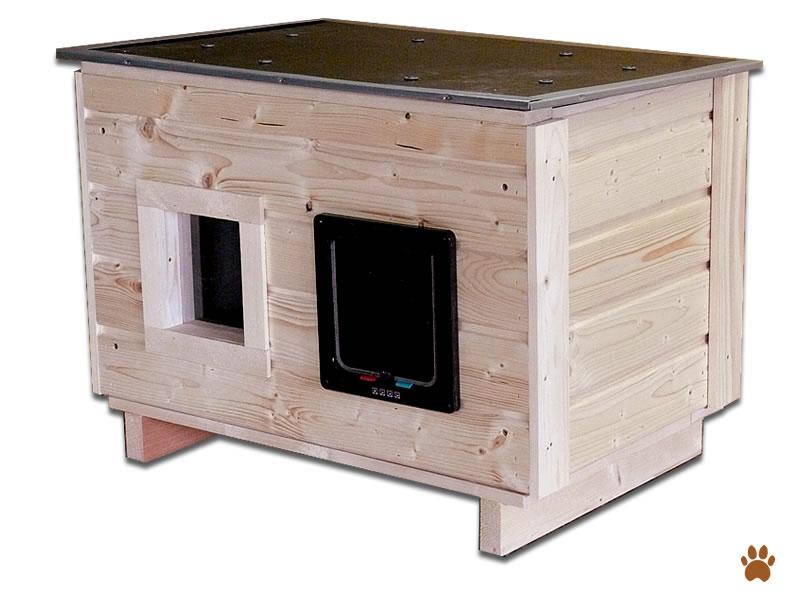 katzenhaus outdoor selber bauen anleitung wohn design. Black Bedroom Furniture Sets. Home Design Ideas